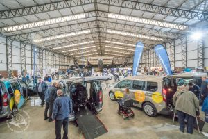 Allied Mobility corporate event in the Museum's main hangar