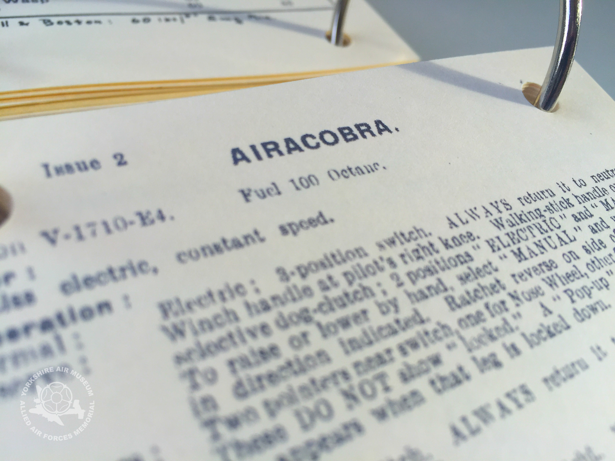 From A to Z, starting with Aircobra