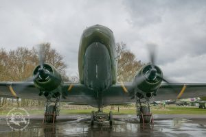 Explore the interior of our original WW2 Dakota