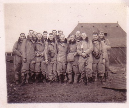 Sergeat Pilot Ted Cryer and Whitley crew