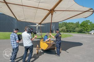 Behind The Scenes with the Cayley Glider