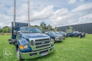 American trucks and German reguistrations? What's happening at the Museum?