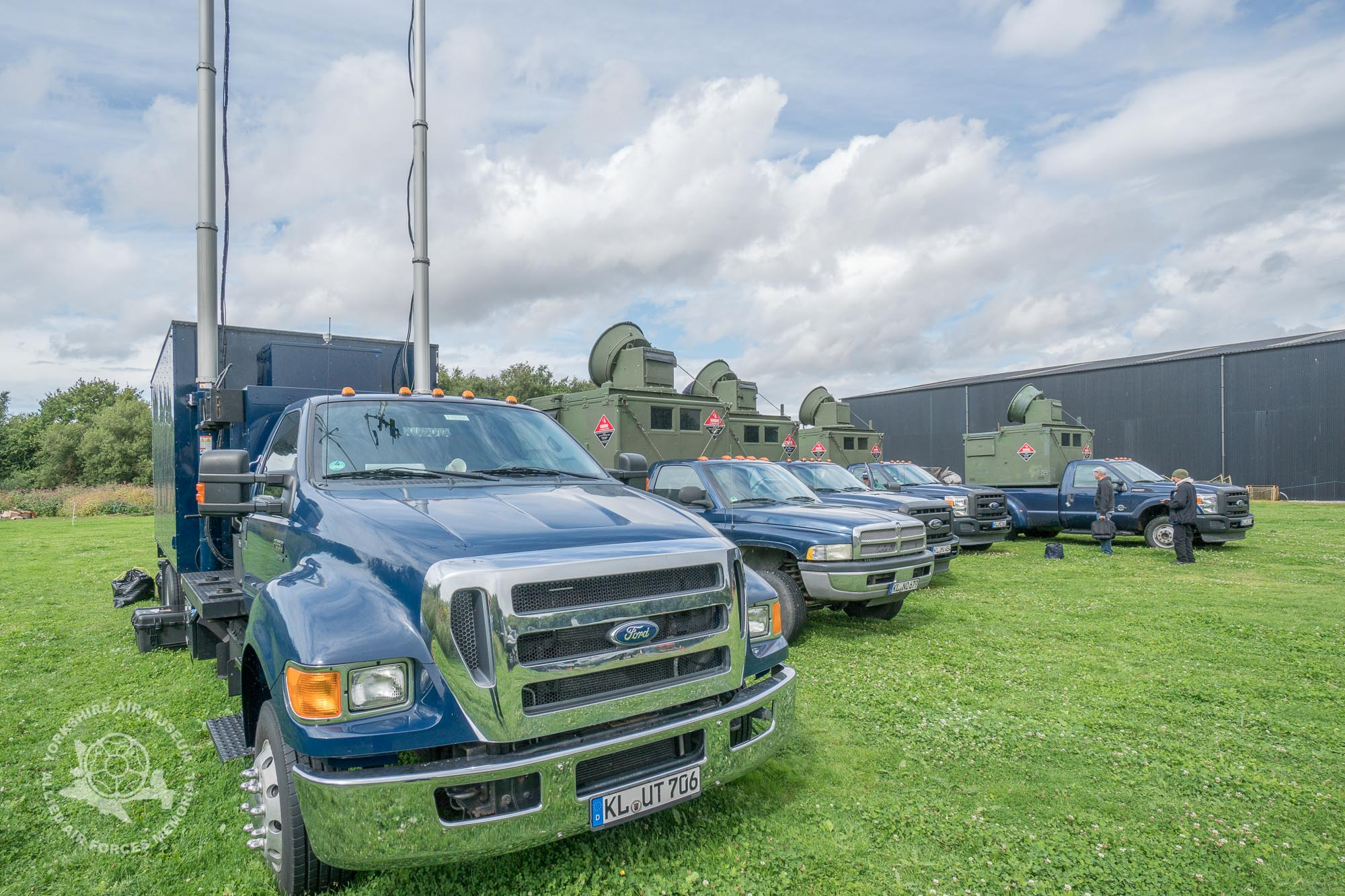 American trucks and German registrations? What's happening at the Museum?